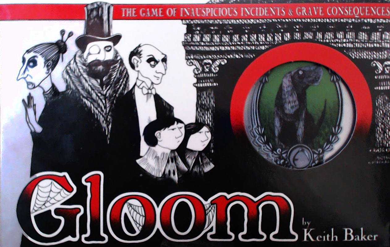 Cover of Gloom Card Game