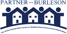 PARTNER with Burleson logo