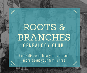 Genealogy club website image