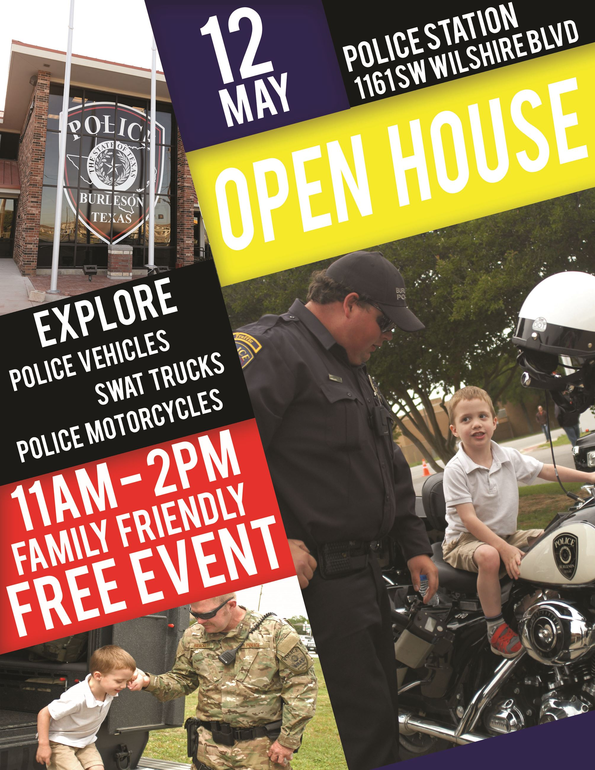 2018 Open House Flyer - Police