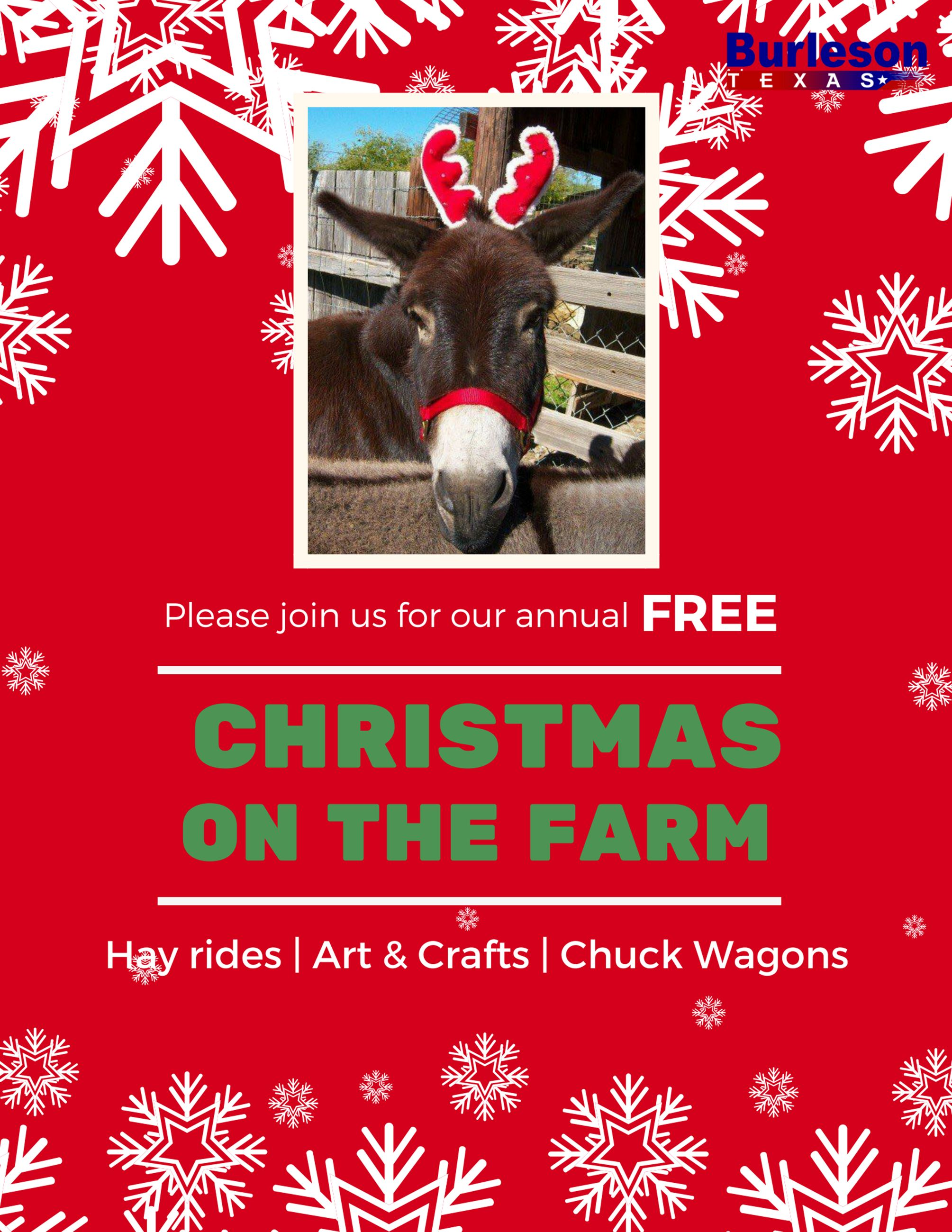 2018 Christmas on the Farm Flyer for website