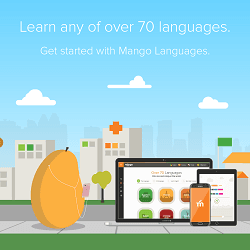 mango over 70 languages