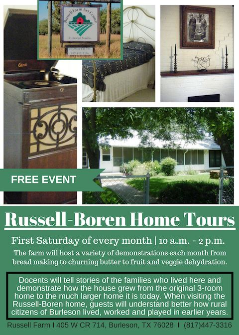 Home Tour every saturday flyer