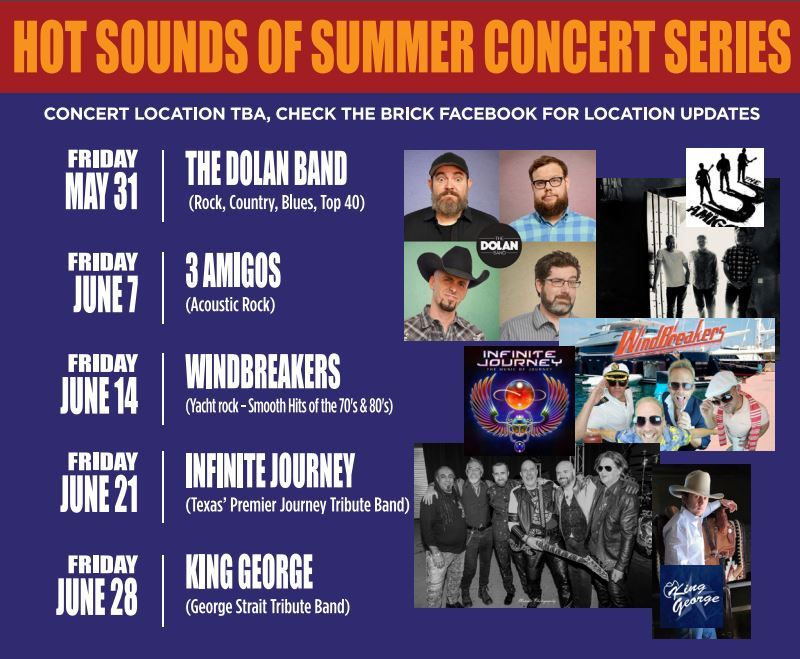 2019 hot sounds of summer concert lineup