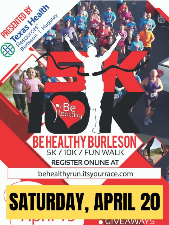 Be Healthy moved to April 20
