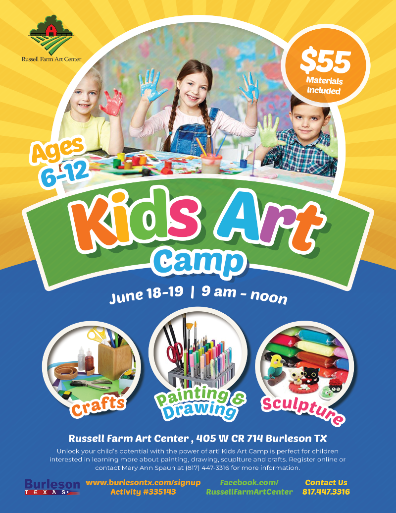 Kids Art Camp 2019