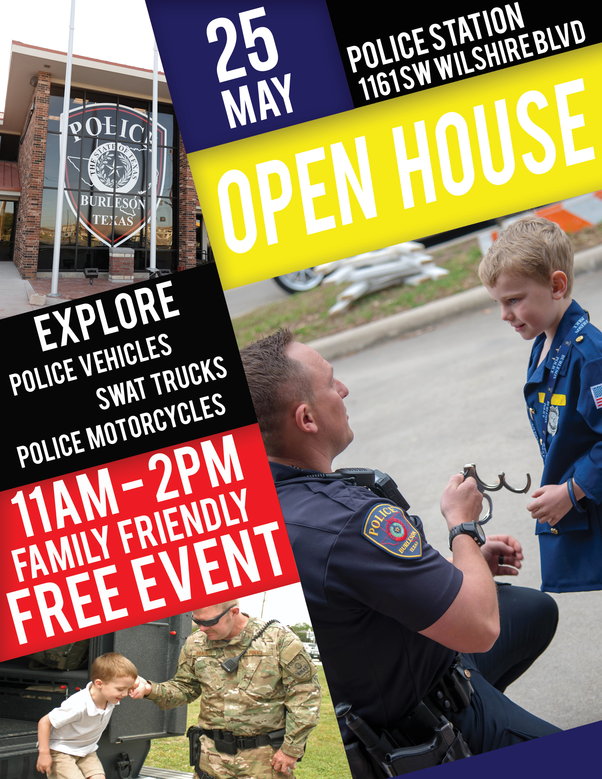2019 Police Open House Flyer