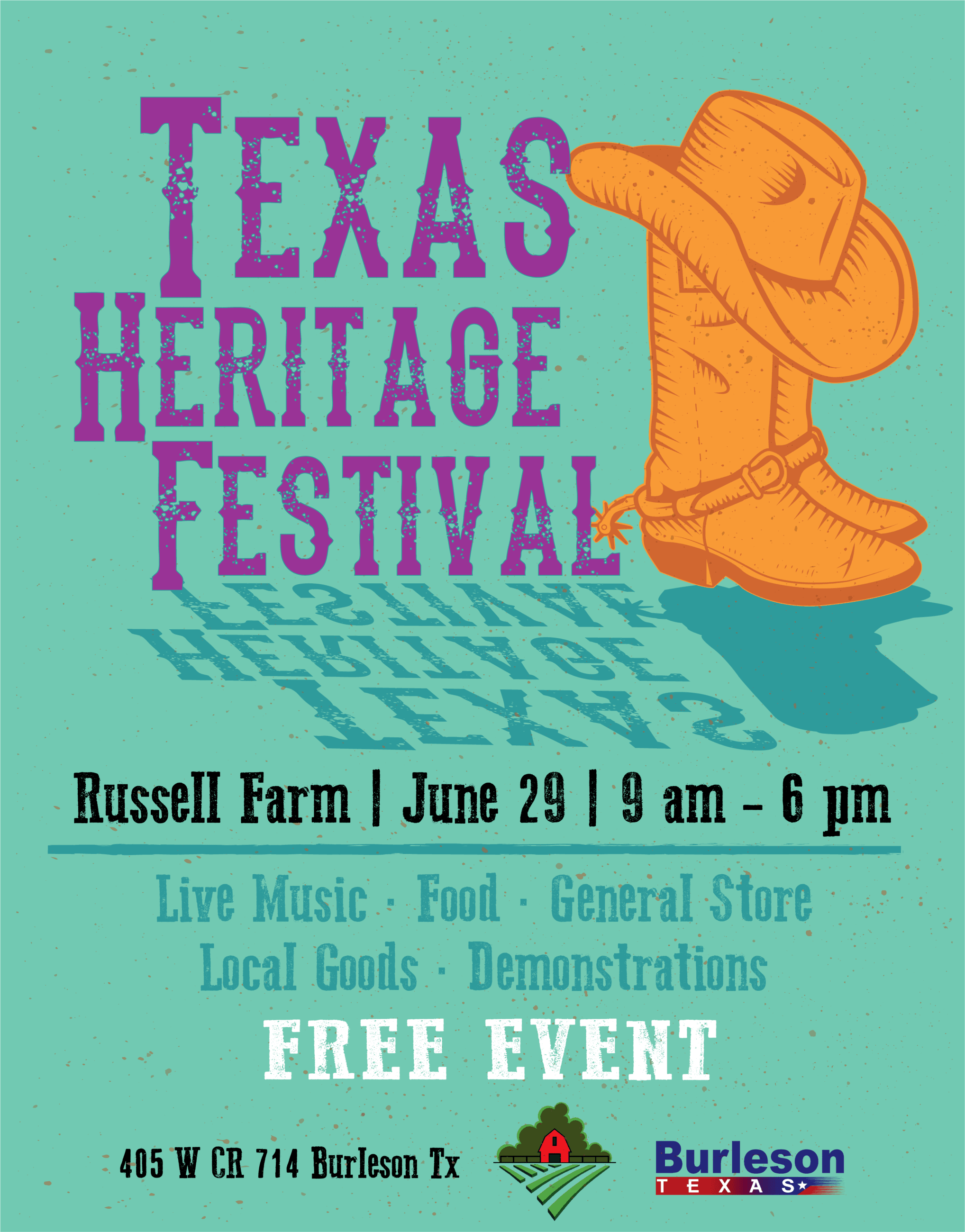Texas Heritage Festival 2019 flyer