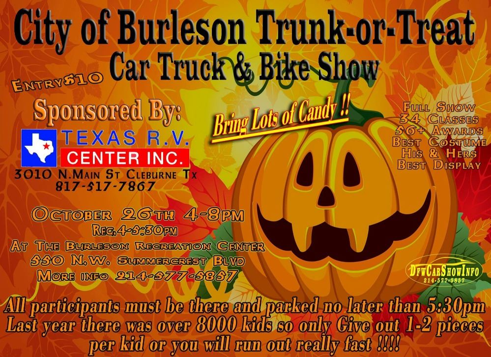 trunk or treat car show
