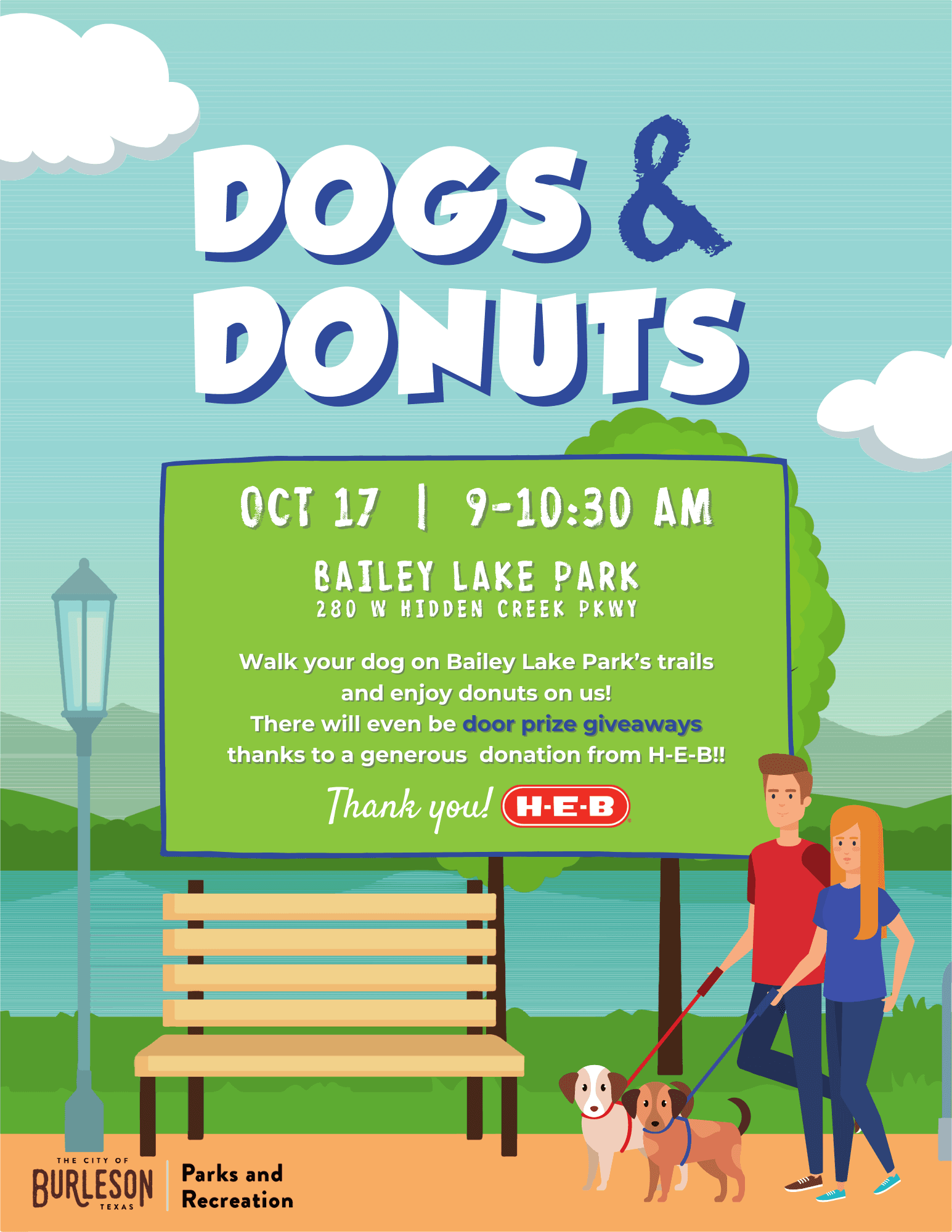 Dogs and Donuts Flyer