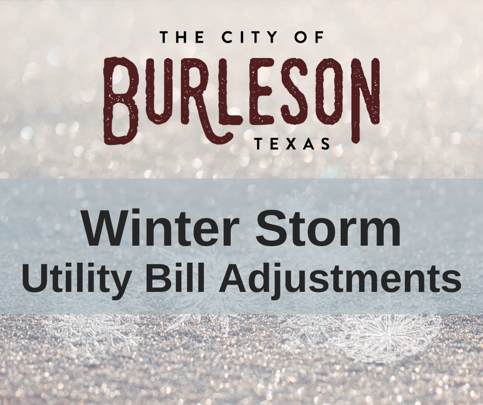 winter storm utility bill adjustments