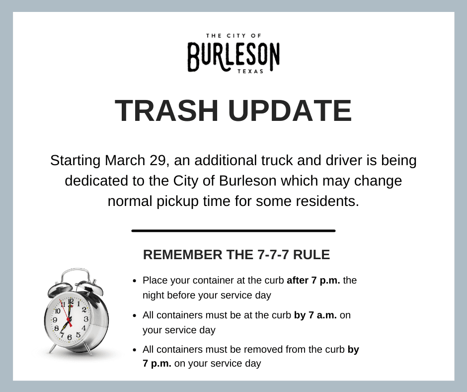 Trash Update