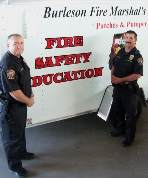 Fire marshal staff, Spotlight on fire safety.jpg