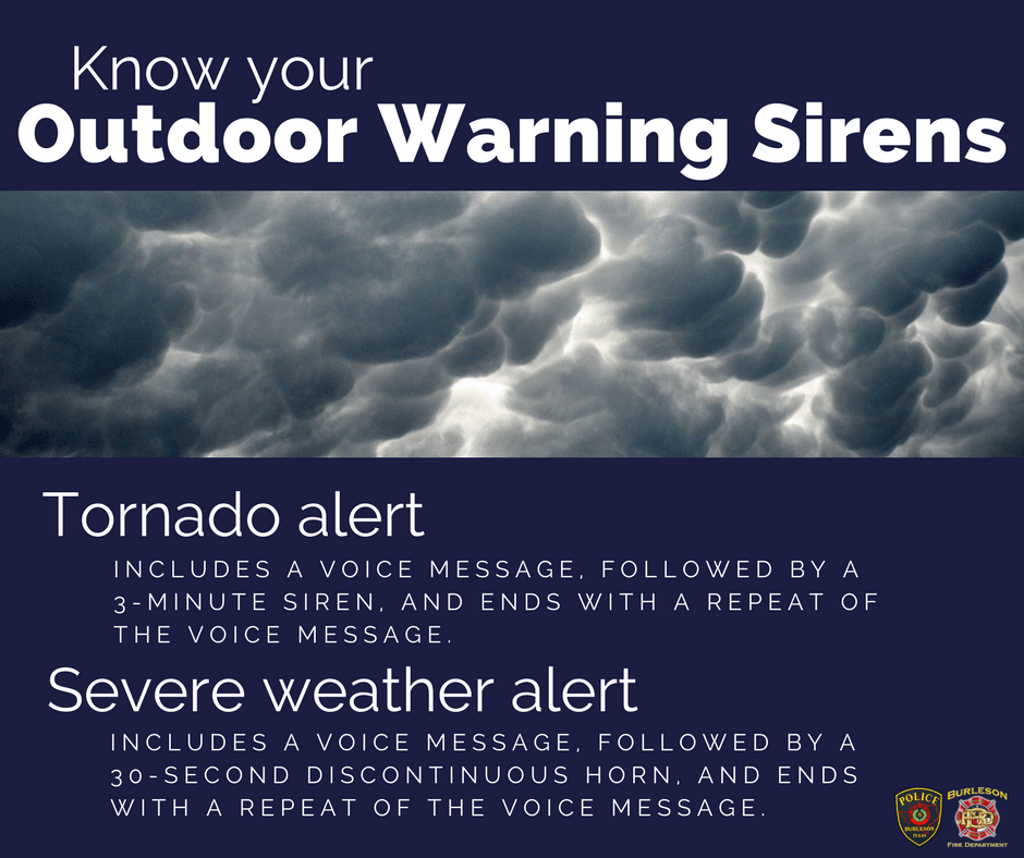 Outdoor Warning Sirens Facebook
