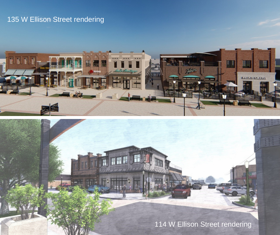 135 W Ellison Street Burleson Texas rendering