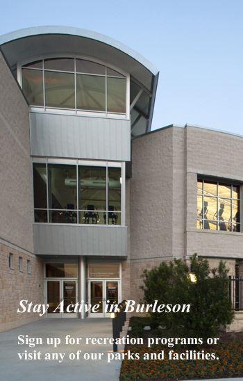 Burleson Recreation Center Opens in new window