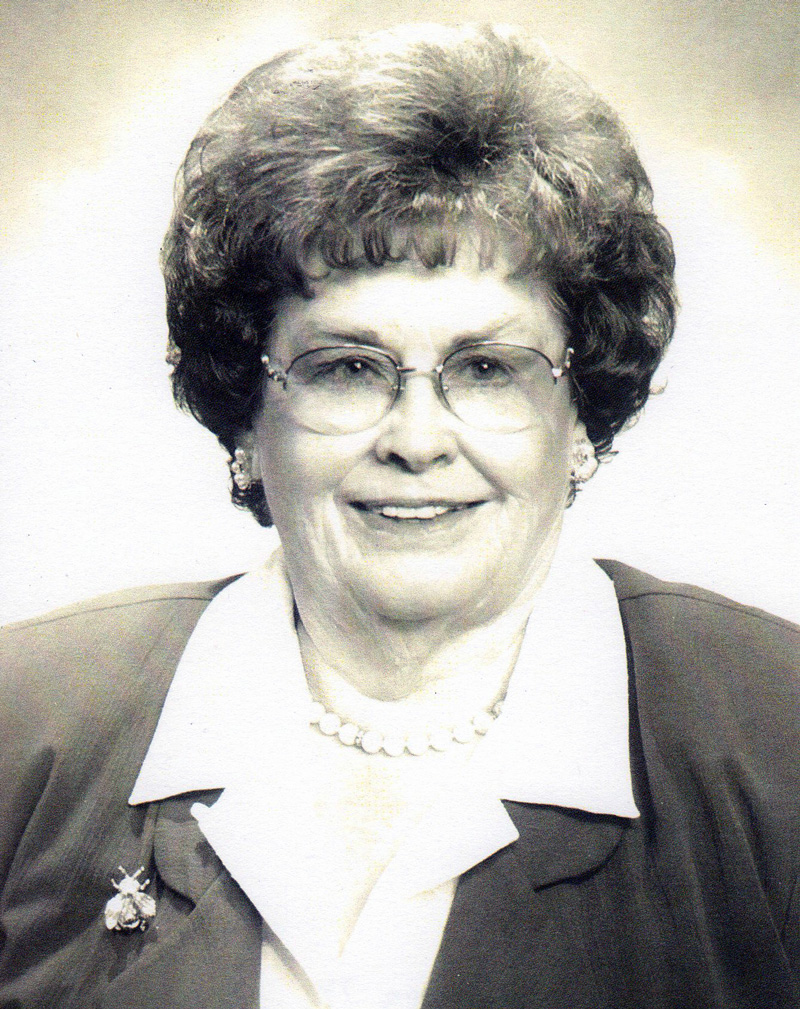 photo of Mayor Vera Calvin