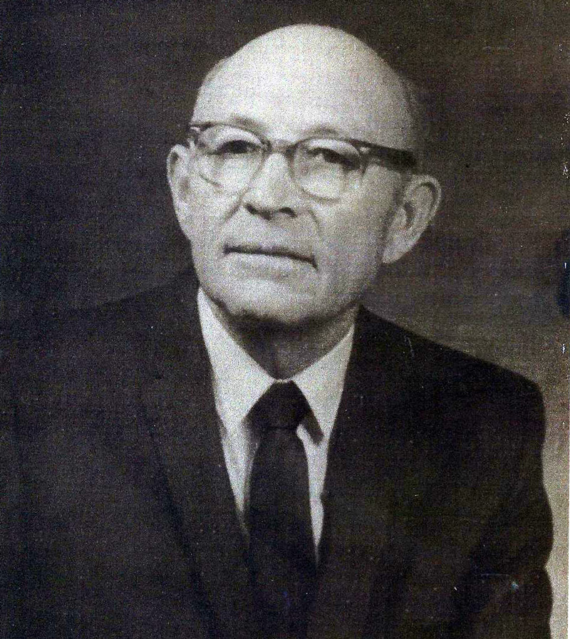 photo of Mayor C.A. (Buster) Godfrey