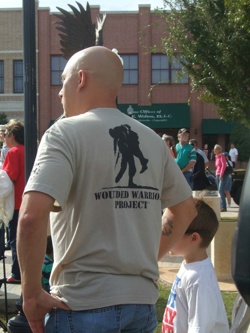 Wounded Warrior Project shirtMilitary Vet Tribute