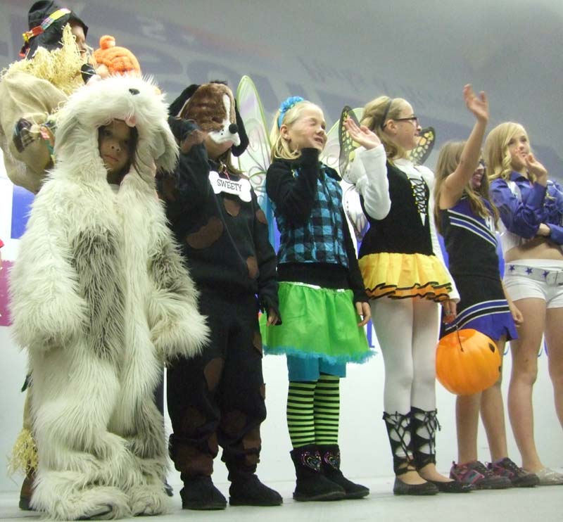 photo of kids in the costume parade
