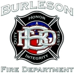 Burleson Fire Department logo